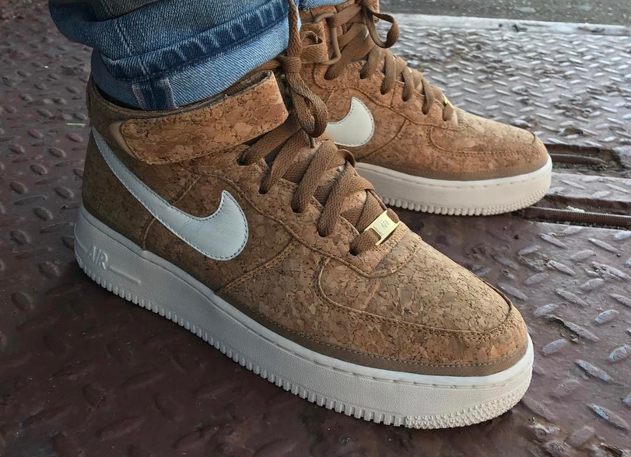 Retour de la Nike Air Force 1 Premium ID 'Cork'