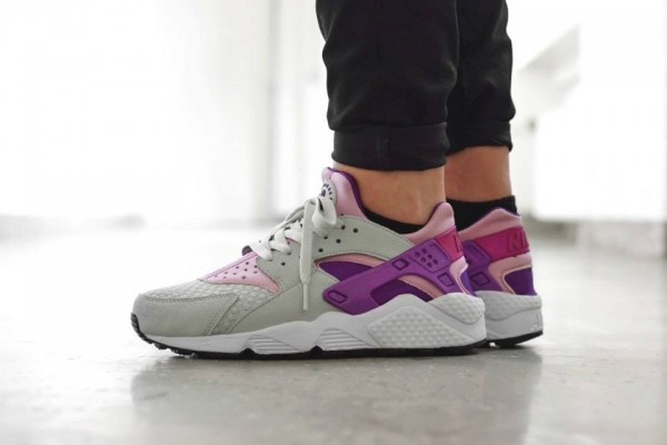 Nike Air Huarache Woven Light Base Grey/Artic Pink