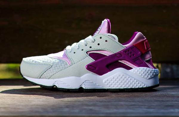 Nike Air Huarache Light base Grey Artic Pink (5)