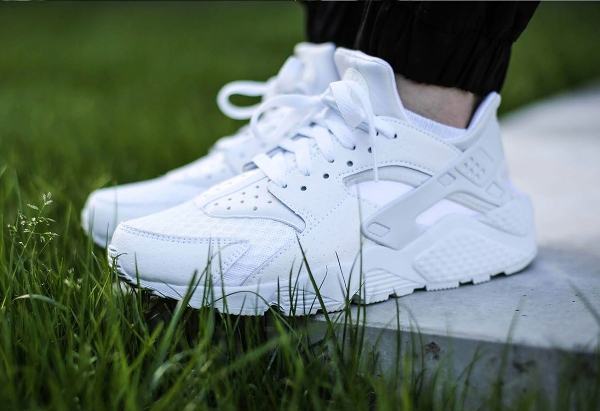 Nike Air Huarache White Pure Platinum 2015 (2)