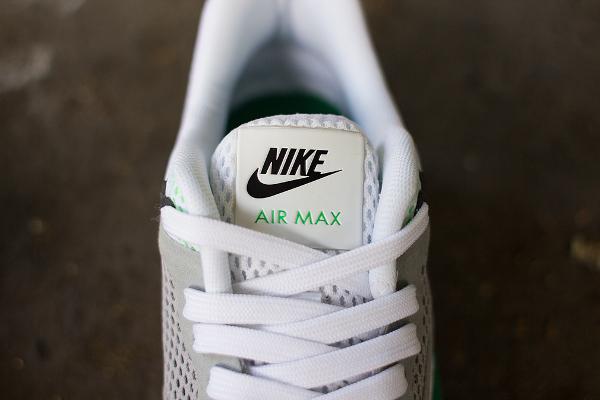 sports shoes 504f4 a8572 Nike Air Max 1 BR Breathe White Green (5)