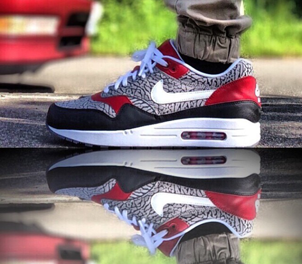 Nike Air Max 1 ID Elephant - Orion Tantico (1)