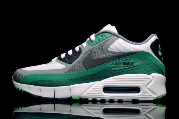 Nike Air Max 90 Breathe White - Green (2)