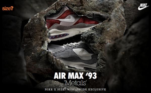 Nike Air Max 93 x size Metals (1)
