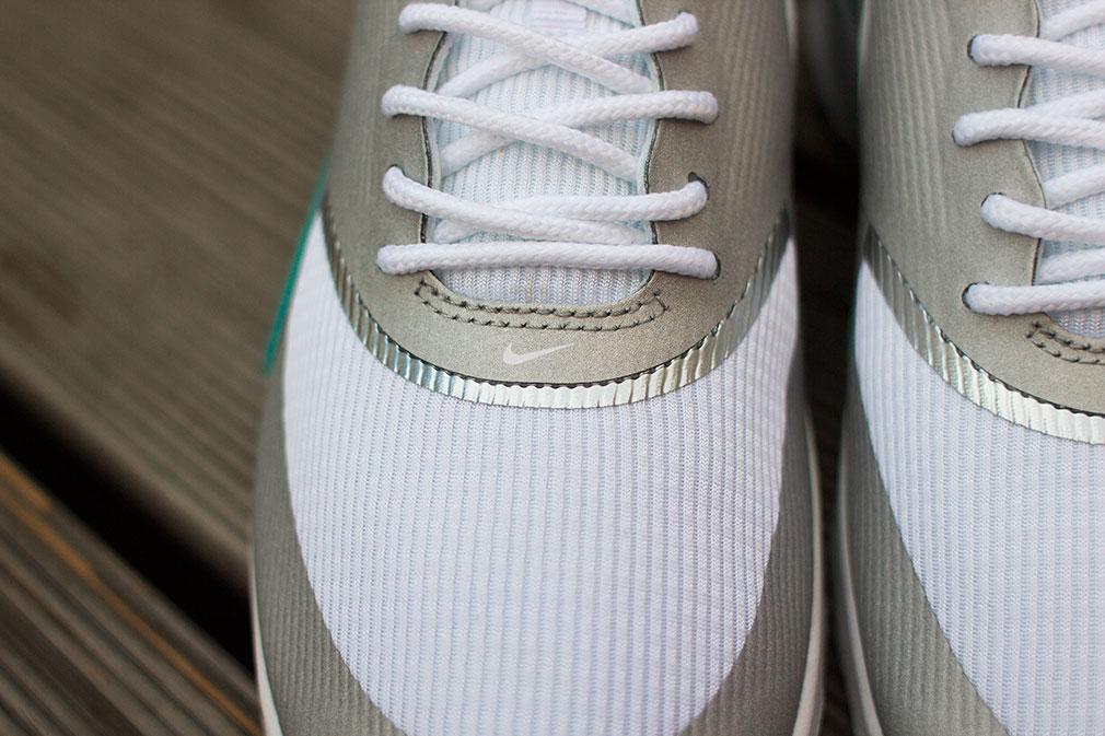 Où acheter la Nike Air Max Thea Metallic SilverWhiteGreen ?
