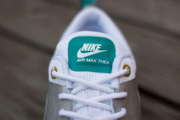 Nike Air Max Thea Metallic Silver White Tribe Green  (6)