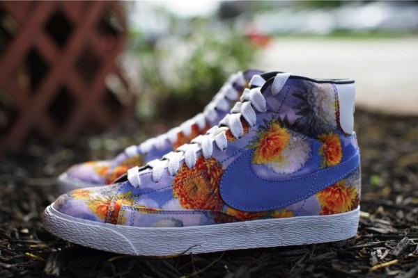 Nike Blazer Mid QS Floral Chicago (1)