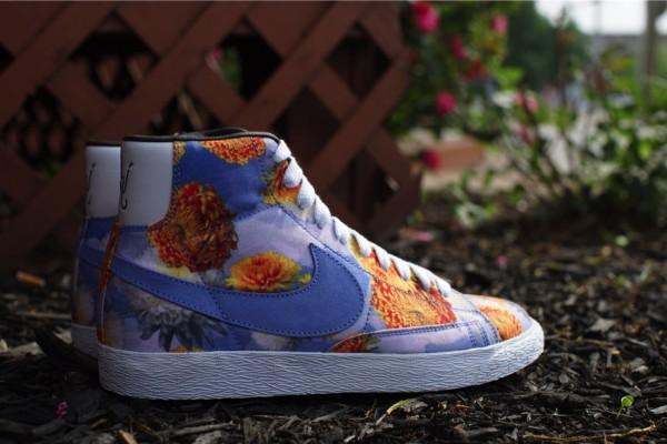 Nike Blazer Mid QS Floral Chicago (3)