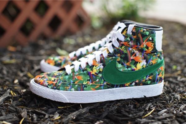 Nike Blazer Mid QS Floral LA (1)