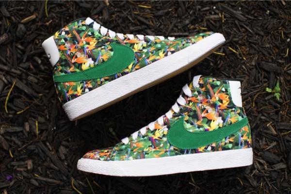 Nike Blazer Mid QS Floral LA (2)