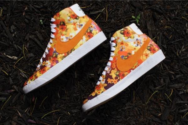 Nike Blazer Mid QS Floral NYC (2)