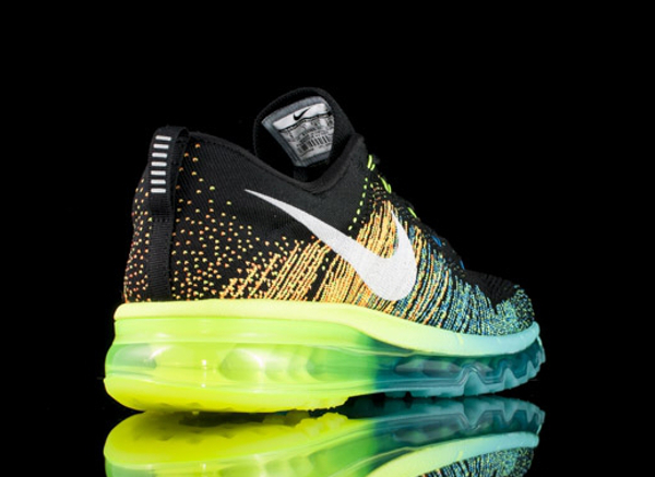 Nike Flyknit Max White Turbo Green Volt (5)