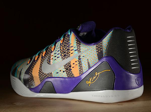 Nike Kobe 9 EM Court Purple Pop Art (2)