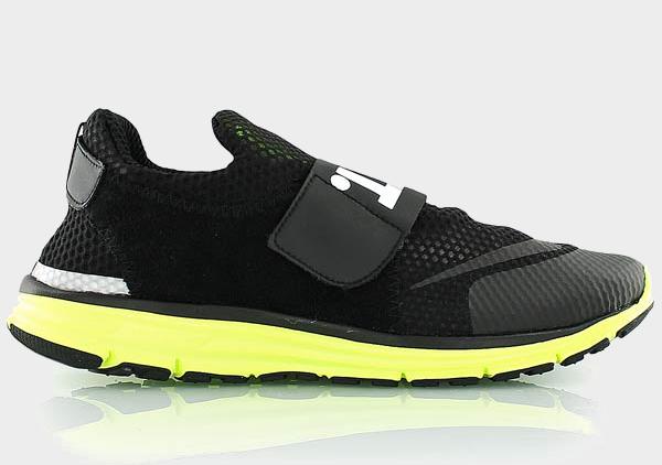 Nike Lunarfly 360 Black White Metallic Silver (2)