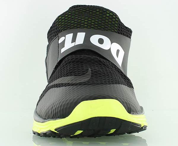 Nike Lunarfly 360 Black White Metallic Silver (3)