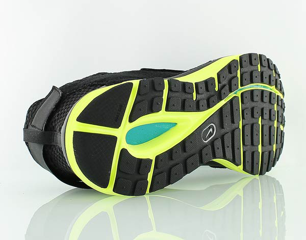 Nike Lunarfly 360 Black White Metallic Silver (6)
