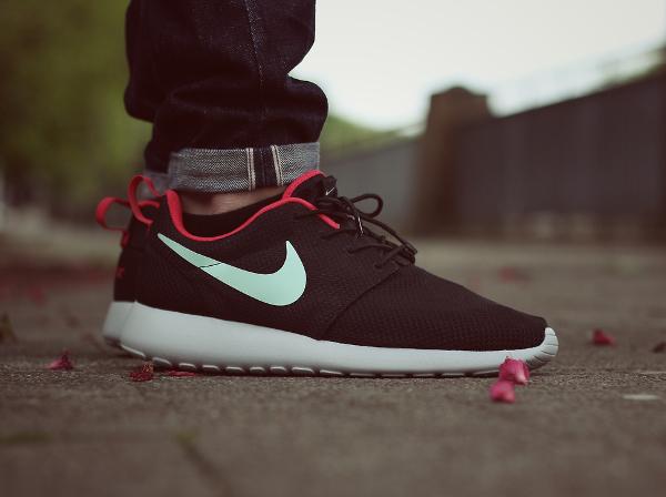 Nike Roshe Run Porté