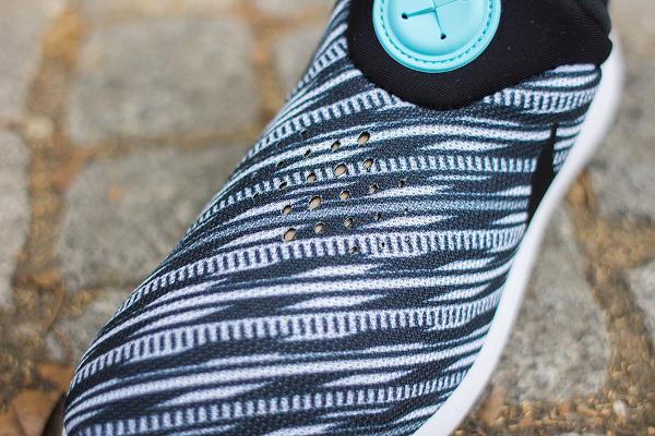 Nike Roshe Run Slip On GPX Black White (4)