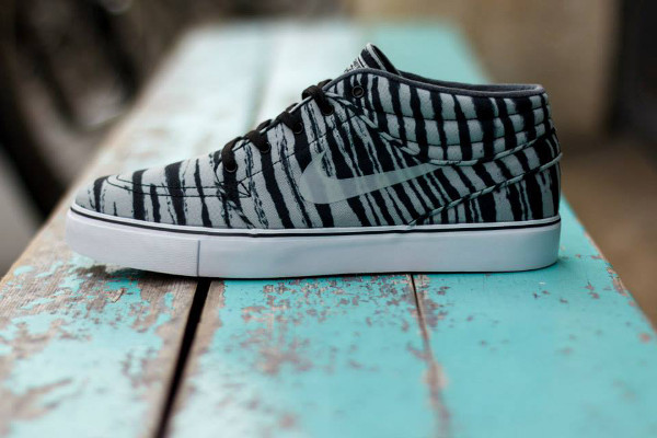 Nike SB Janoski Mid Grey Black Tiger  (2)