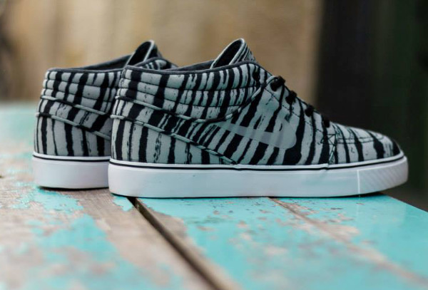 Nike SB Janoski Mid Grey Black Tiger  (5)