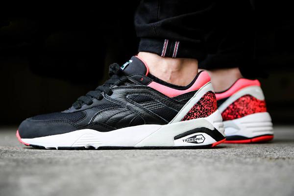 Puma R698 93 OG Black Neon Pink (1)