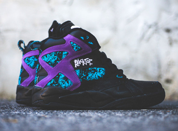 Reebok Pump Blacktop Battleground Black Purple (0-1)