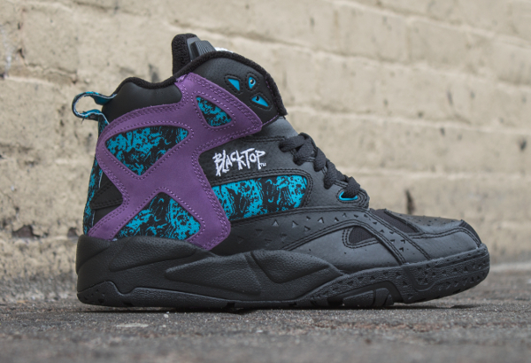 Reebok Pump Blacktop Battleground Black Purple (0-2)