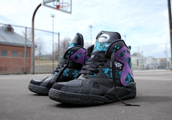 Reebok Pump Blacktop Battleground Black & White