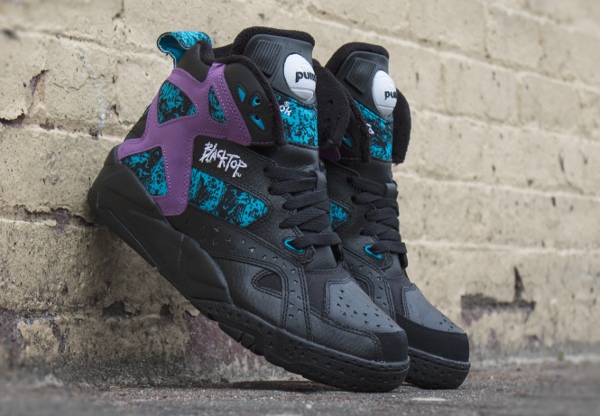 Reebok Pump Blacktop Battleground Black Purple (3)