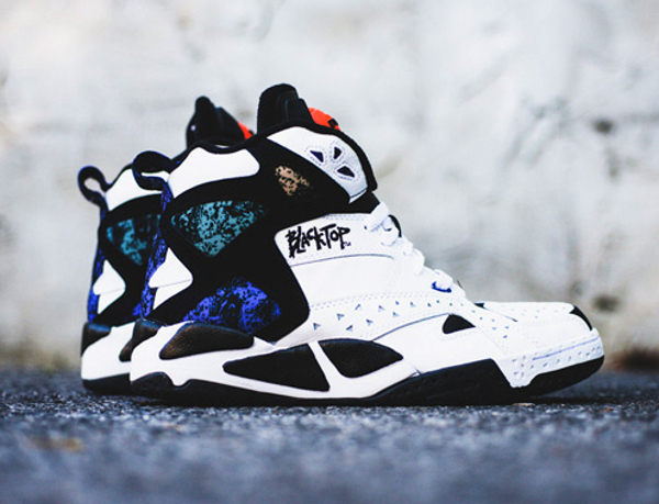 Reebok Pump Blacktop Battleground White Black (0-1)