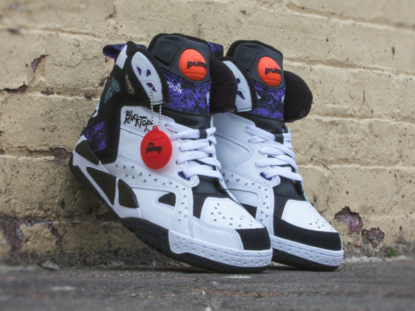 Reebok Pump Blacktop Battleground White Black (0-2)