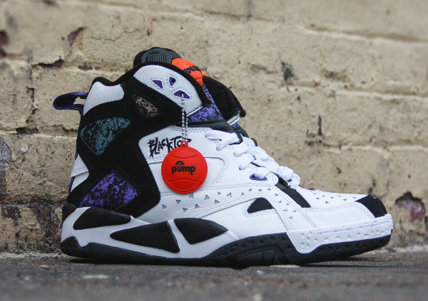 Reebok Pump Blacktop Battleground White Black (0-3)