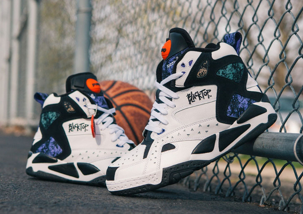 Reebok Pump Blacktop Battleground White Black