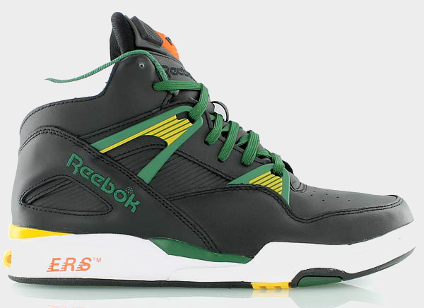 Reebok Pump Omni Zone Black Yellow Green Black (2)