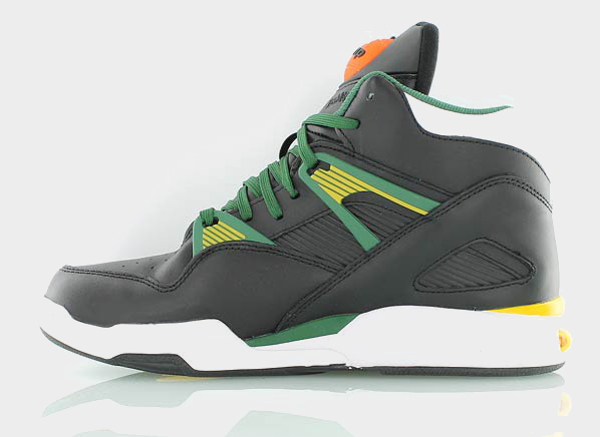 Reebok Pump Omni Zone Black Yellow Green Black (4)