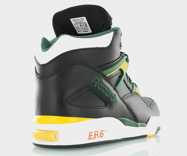 Reebok Pump Omni Zone Black Yellow Green Black (5)