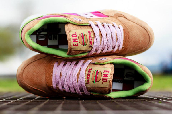 Saucony Shadow 5000 x End Clothing Burger   (10)