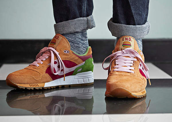 Saucony Shadow 5000 x End Clothing Burger (5)