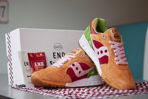Saucony Shadow 5000 x End Clothing Burger (7)
