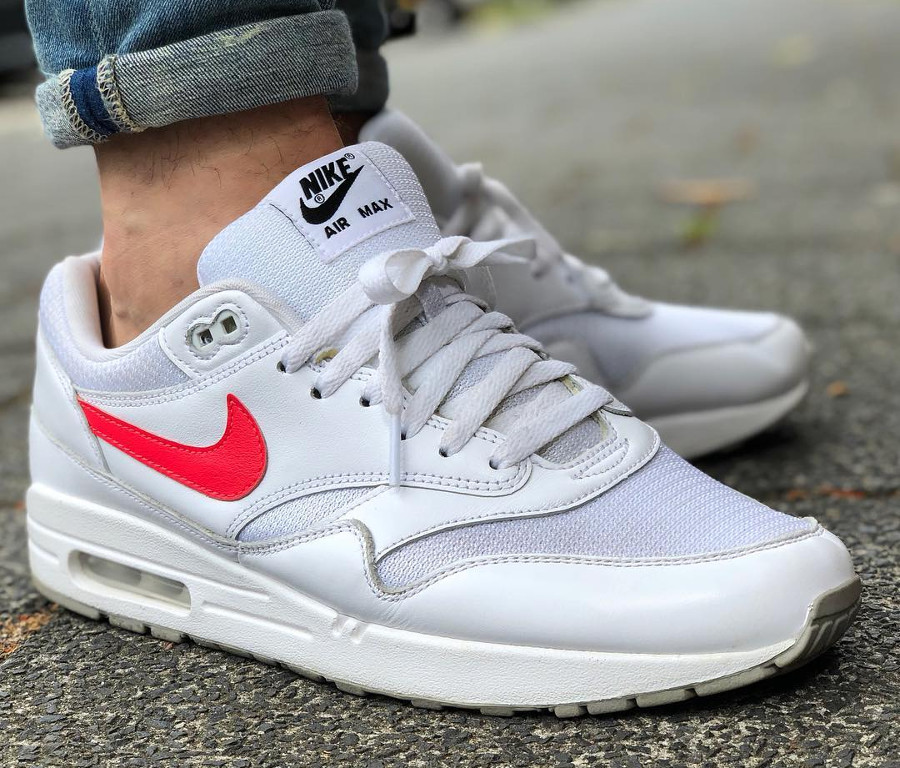 nike-air-max-1-cool-grey-solar-red - @bashonders