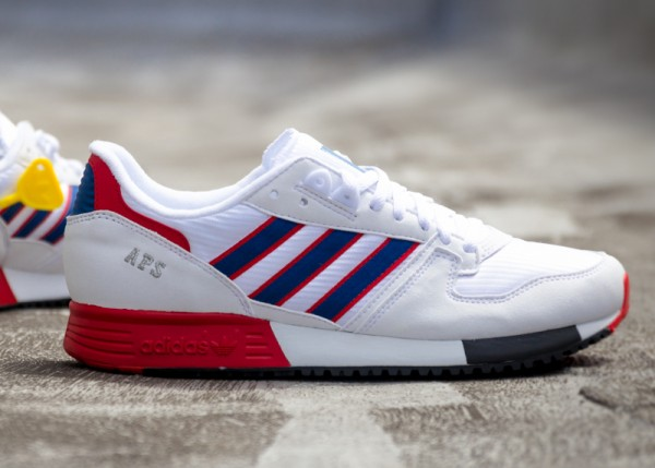 Adidas Originals APS White Blue Red (1)