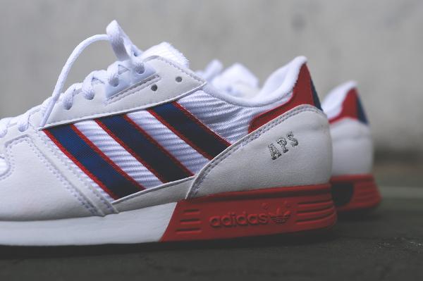 Adidas Originals APS White Blue Red (3)