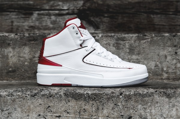 Air Jordan 2 Retro White Red 2014 (1)