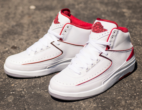 Air Jordan 2 Retro White Red 2014 (11)