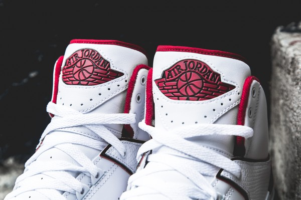 Air Jordan 2 Retro White Red 2014 (2)