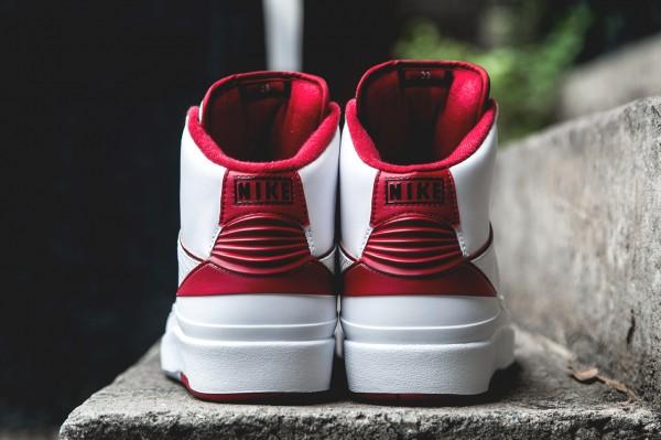 Air Jordan 2 Retro White Red 2014 (3)