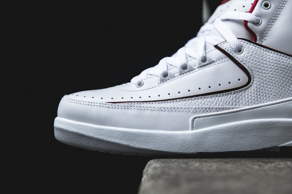 Air Jordan 2 Retro White Red 2014 (4)