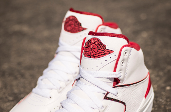 Air Jordan 2 Retro White Red 2014 (5)