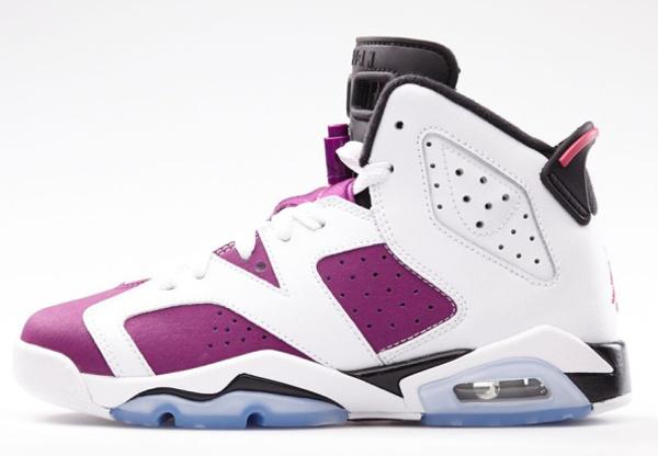 Air Jordan 6 Bright Grape Vivid Pink (1)