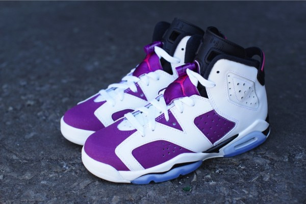 Air Jordan 6 Bright Grape Vivid Pink (2-1)